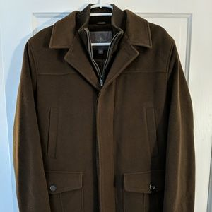 Cole Haan Wool Cashmere Blend Dress Coat Men's M